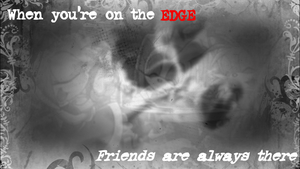 When your on the edge by animeroxygirl