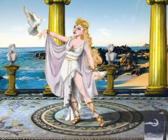 Aphrodite - Goddess of Love by TheSorceressRaven