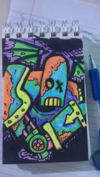 Robot Zombie by Jack-Roach0