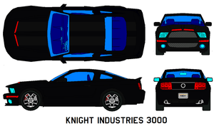 Knight Industries 3000 by bagera3005