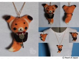 Foxy Necklace by TheHeartofJapan