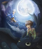 Hiccup and Jack Frost by Dabby6633