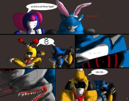 Why did ya Make him mad page 1 by Jonathanxbrass2