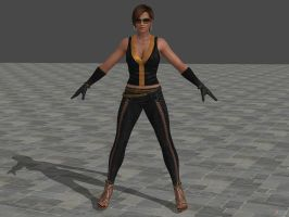 DOA5U Lisa Hamilton costume 5 by zareef