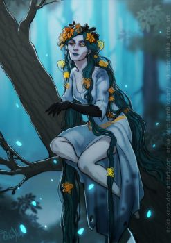 Rusalka: The Mythical Slavic Mermaid by Erika-Xero