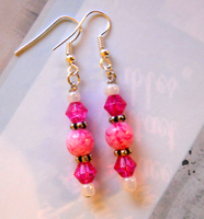 Princess Earrings by LypticDesigns