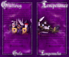 Gluttony and Temperance by NightyIcons