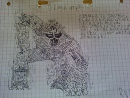 Drawing: The Demanted by rubenimus21