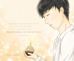 Happy Birthday, our Prince by Lanaleiss