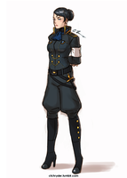 Officer Kimiko - CommExample by dCTb