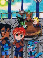 LuckyStar Storm Hawks by Dreamgirl2007