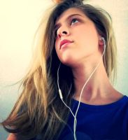 Me, my Messy hair and my music by COLYPSO333