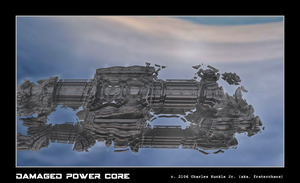 damaged power core by fraterchaos