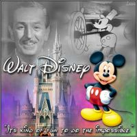 Walt Disney by Lazer27