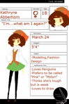 The Art Project:: Kathryne by The-Pink-Green-Chibi