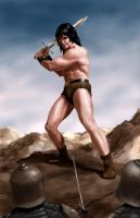 Conan by fluidgeometry