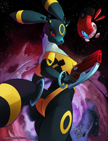 U is for Umbreon by ZwitterKitsune