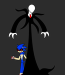 sonic Exe and slender by 115spartan