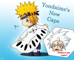 --Yondaime's new cape-- by Zelinky