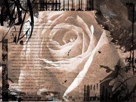 Grunge the Rose by tenchimuyo1