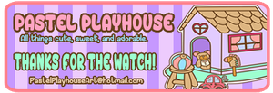 Thanks for the watch sign by Pastel-Playhouse