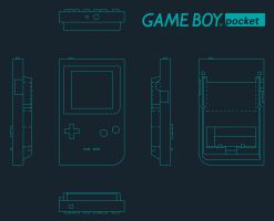 Game Boy Pocket by LuisHerrero92