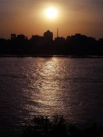 Cairo Magical Sunset by Nanooshka