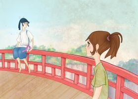 I Have Been Spirited Away by spicysteweddemon