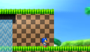 Ultimate Sonic Green Hills Test by triplesonicX