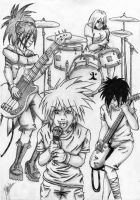 J-rockers by MewIly