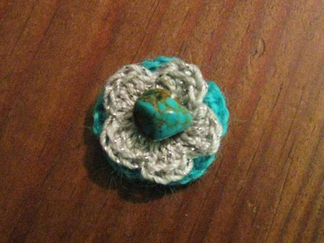Crochet Pendant by MegMcMuffin