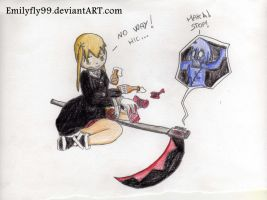 Here' s how Maka wents insane by Emilyfly99
