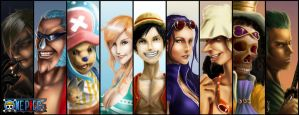 One Piece Portraits by DricheeChung