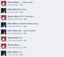 Vocaloid Facebook:Robots by NessSophie