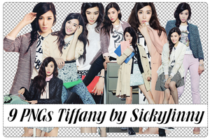 Pack 9 PNGs Tiffany - QUA Photoshoot (p1) by SickyJinny