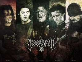 Moonspell poster by bengo-matus