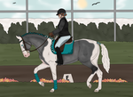 [Pay] Evergreen dressage 2.0 by DobbysCookieSock