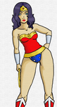 wonder woman by WhiteWinters