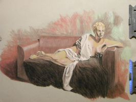 Reclining lady by hcollazo2000