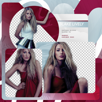 Png Pack 730 // Blake Lively by confidentpngs