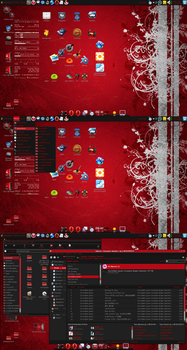 Desktop as of 9-1-2008 by SerenadeOmega