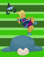 DR - Hop on Snorlax by Vixiana