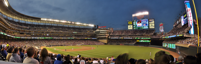 Target Field Panoramic by g00b3rs