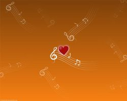 Love Music Wallpaper by speartime