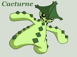 Cacturne by Roky320