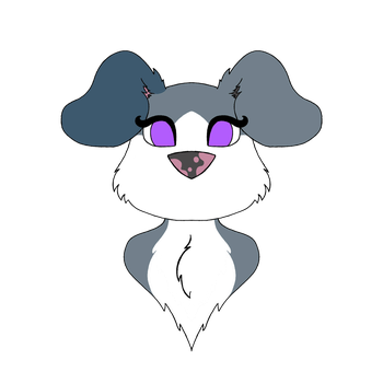 Aster's puppy form by Wolf31707