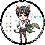 Chibi Cheser cat - HASE by hase-illustration