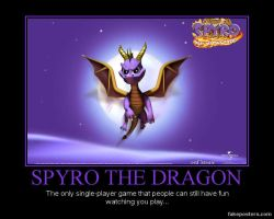 Spyro the Dragon... by Nekovix