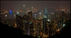 The Peak view by partoftime