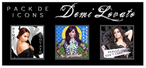 Pack de Icons-Demi Lovato by Dannet2096